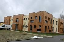 Hotová stavba nové MŠ Větrov.
