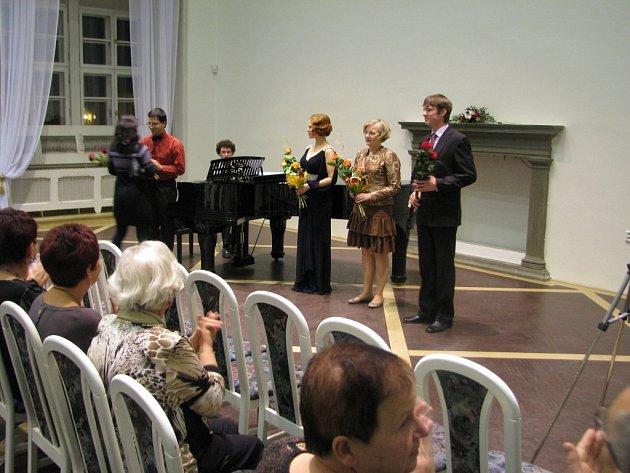 Vokální koncert v Porotním sále.