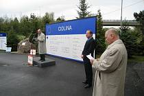 Ze slavnostního zahájení realizace projektu Cidlina.