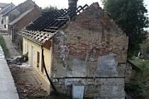 V Libáni hořel rodinný dům.