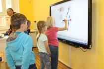 V nemyčeveské škole mají moderní vybavení.