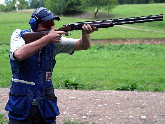 Střelec Tomáš Nýdrle.