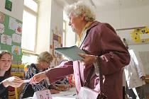 První minuty voleb v Jičíně.