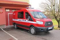 Nový automobil čisteckých hasičů.