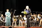 Popřát škole mnoho dalších úspěchů přišel starosta města Jan Malý.