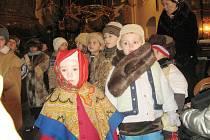 Vánoční koncert ve slatinském kostele.