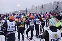 Vasův běh, nejdelší běžkařský závod na světě.