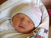 Lucie Čičkánová se narodila 14. května s mírou 48 cm a váhou 2,74 kg. Radost z narození první dcerky mají rodiče Kristýna a Martin Čičkánovi ze Všeně.