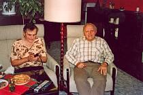 Manželé Luštických dnes po padesáti letech společného života.