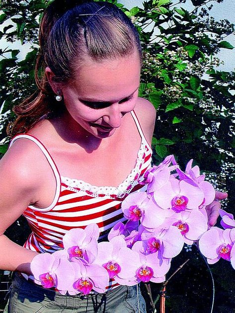 Orchideje Marie Linhartové z Valdic.