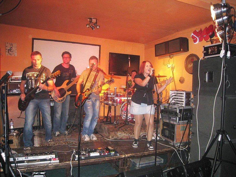 Z koncertu Báry Zemanové.