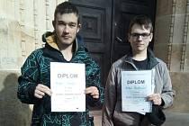 Studenti SŠSE Nová Paka se na olympiádě v anglickém jazyce neztratili.