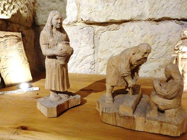 Štípaná prkýnka a na nich historie