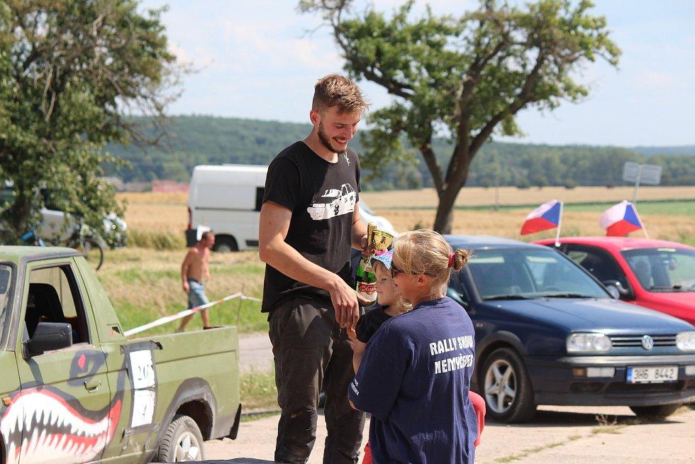 Kategorie vozů s objemem motoru do 1400 cm: 1. Jakub Růžička, 2. Dušan Horák, 3. Filip Stříbrný.