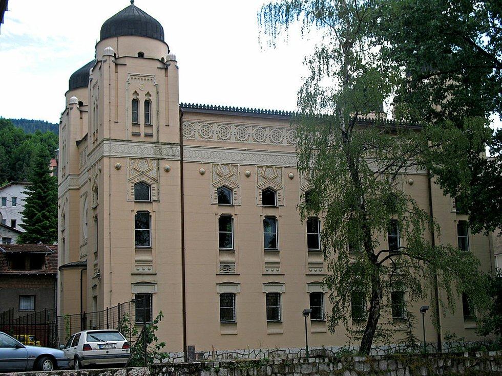 Aškenazská synagoga v Sarajevu.