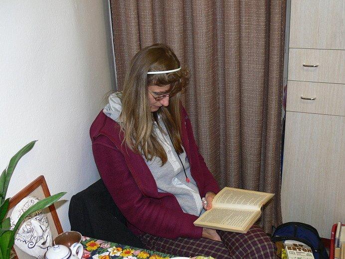 Do novopacké knihovny přijela na besedu Ivona Březinová.