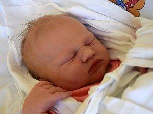 Ella Vojíková se usmívá na svět od 4. prosince, kdy se narodila s váhou 3,90 kg a mírou 51 cm. Šťastní rodiče Tereza a Jan Vojíkovi si Ellu odvezli domů do Lázní Bělohradu, kde na ni čekal dvouletý bráška Mikuláš.