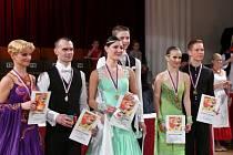 Taneční soutěž O cenu Rumcajse, Manky a Cipíska.