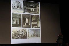 V Biografu Český ráj byla představena studie rekonstrukce Masarykova divadla v Jičíně.