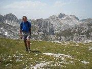Jičínští turisté v italských Dolomitech.