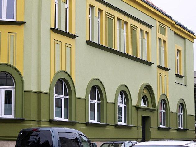 Opravené zdravotnické středisko vSobotce.