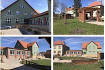 Projekt stavebních úprav v areálu ZŠ Soudná pro potřeby organizace Apropo byl nominován do soutěže Náš evropský projekt.