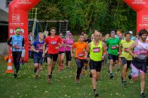 Je tu druhý ročník závodu Podskalan cross run.