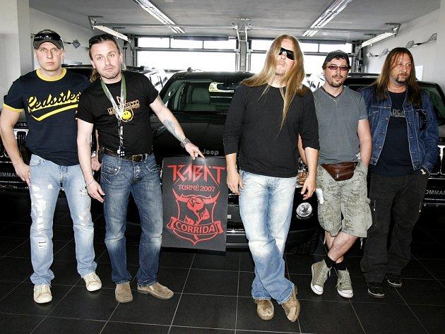 Úspěšná rocková skupina Kabát.