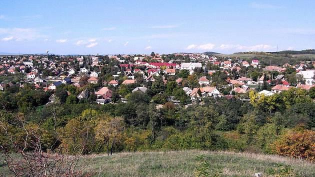 Maďarské město Kerepes.