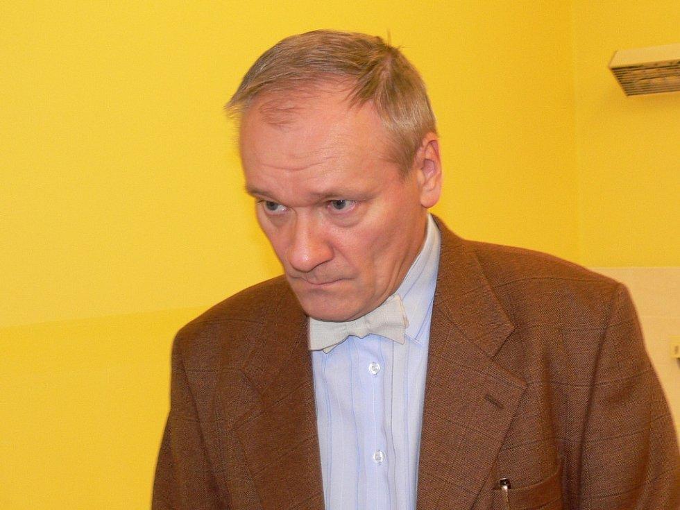 Ředitel nemocnice Tomáš Sláma.
