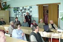 Výroční schůze ostroměřských zahrádkářů spojená s přednáškou Otto Macla.