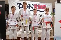 Tomáš Ort (druhý zprava) vybojoval bronz. Autor: A. Kratochvíl