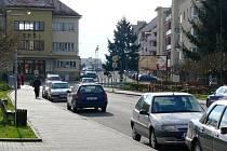 Jičínská ulice Pod Koželuhy.