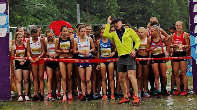 Jičínská Veigertová skvěle reprezentovala na mistrovství Evropy v běhu do vrchu.