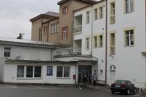 Z areálu hořické nemocnice.