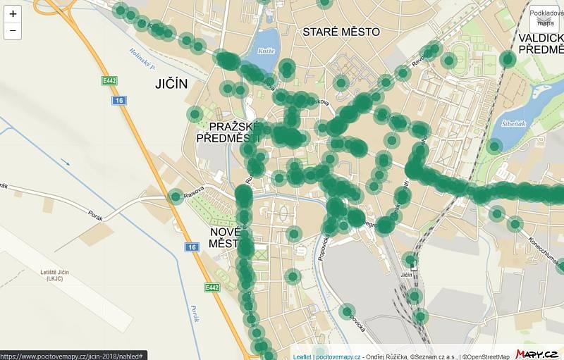 Pocitová mapa: Kde vnímají největší problém cyklisti?