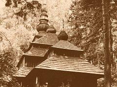 Kostelík na Husově kopci v Nové Pace.