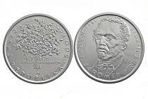 Pamětní mince ke 200. výročí narození K. J. Erbena.