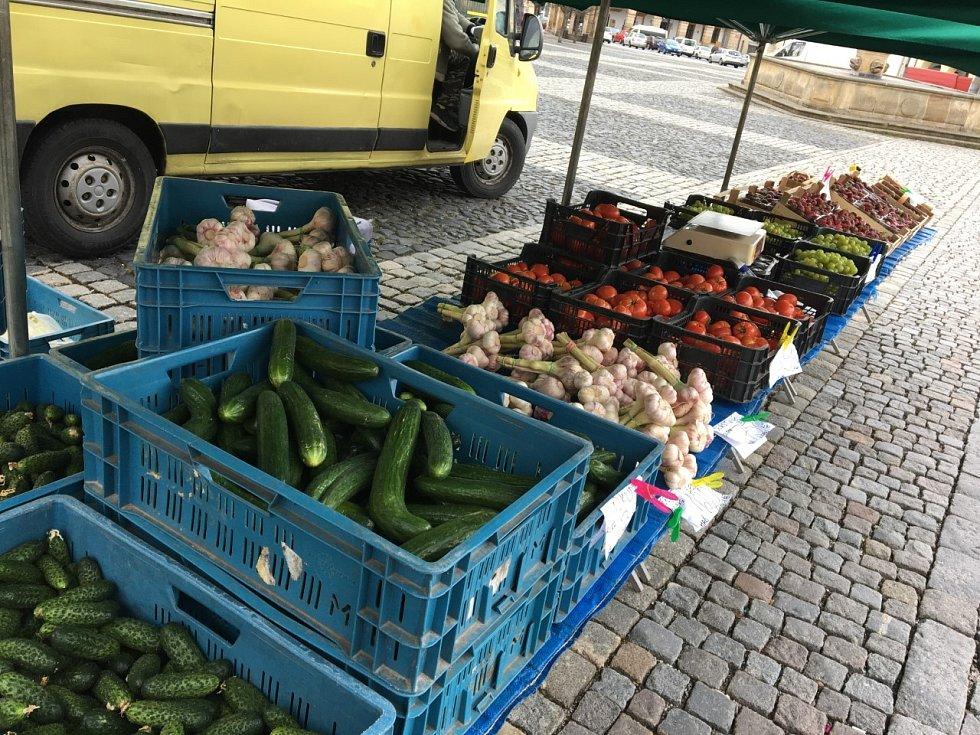 Farmářské trhy v Jičíně