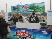 Prodej kaprů v Jičíně.