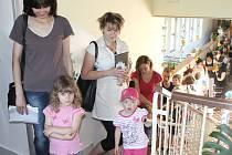 Zápisy do mateřských škol.