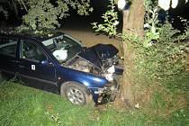 Nehoda oktávie u Jinolic.