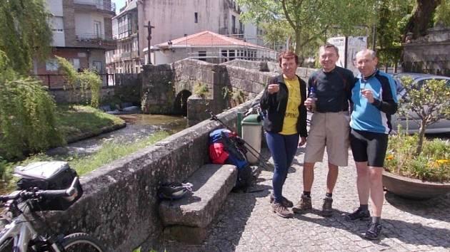 Putování Jičíňáka Ivana Pírka do Santiaga de Compostela.
