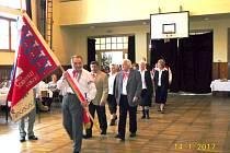 Výroční schůze soboteckých baráčníků.