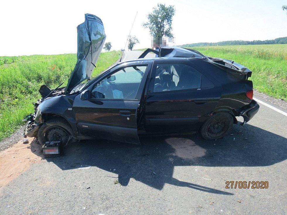 Nehodu v Liběšicích zřejmě zavinila nepřiměřená rychlost.