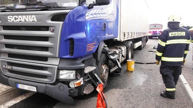 Dopravní nehoda v Bílsku