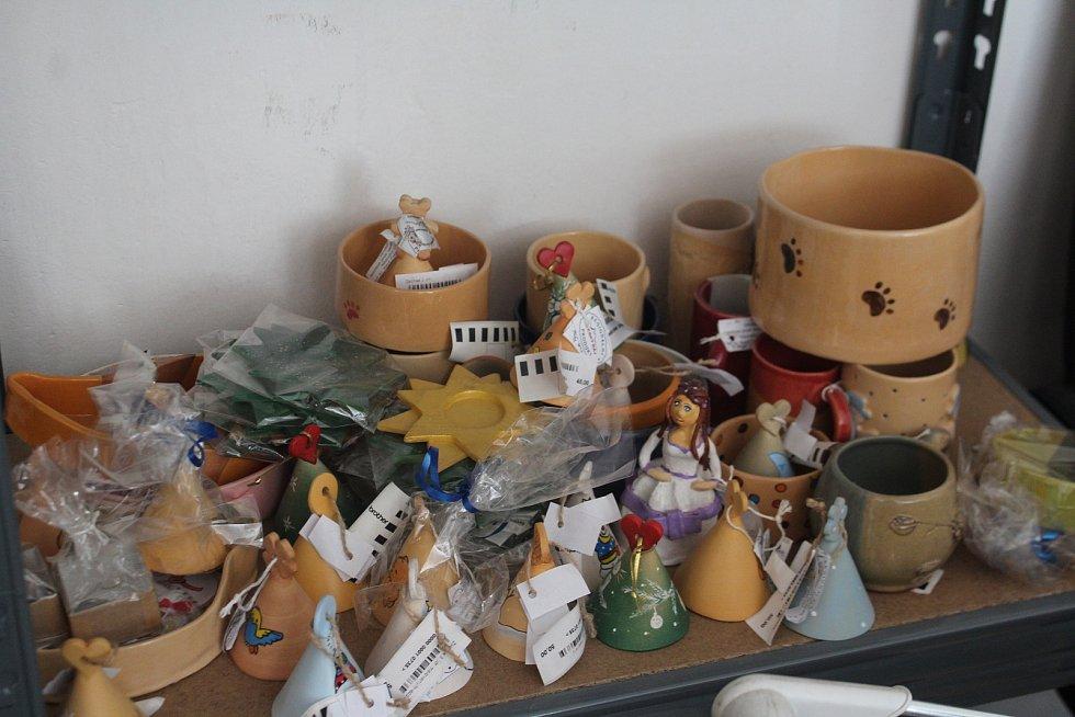 Výrobky z chráněné dílny.