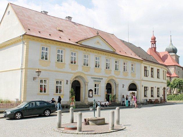 Železnické Vlastivědné muzeum.