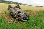 Nehoda u Podhorního Újezdu: dva zranění.