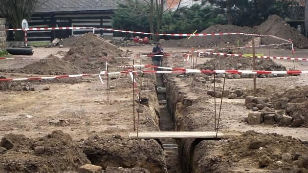 Rekonstrukce soboteckého Malého náměstí.